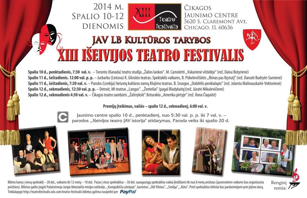 XIII festivalio programa 2014