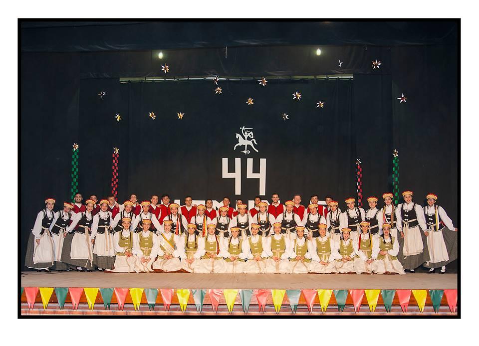 Lietuvi-- jaunimo tautini-- --oki-- ansamblis ---Nemunas---