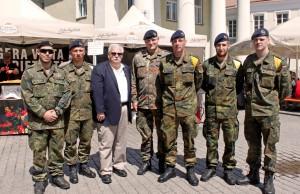 Su vokieciais kariais Vilniuje nuotr K. Kazlausko