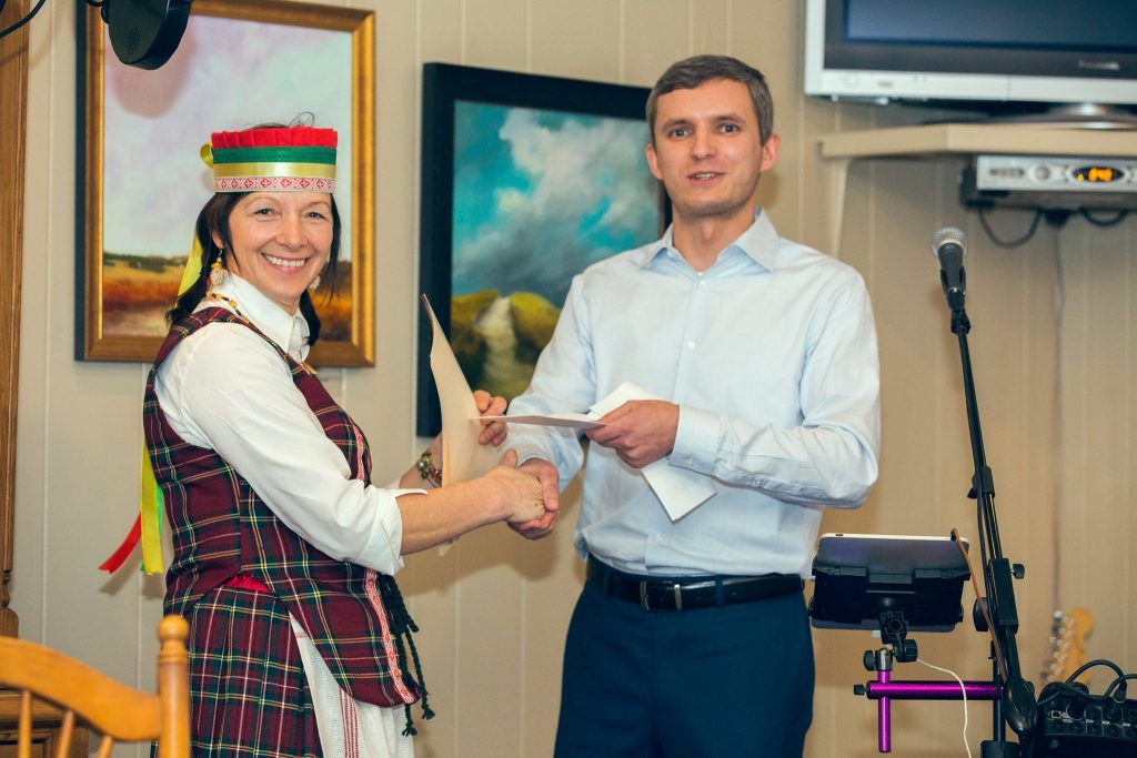 Inga Puodžiukynienė ir Juozas Kazlauskas