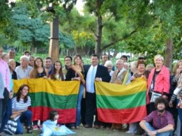 Argentinos lietuviai šventė LR Nepriklausomybės 26-asias metines