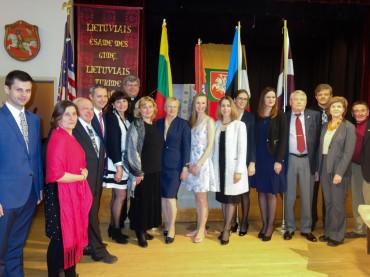 Bostono lietuviai paminėjo Lietuvos Nepriklausomybės šventes