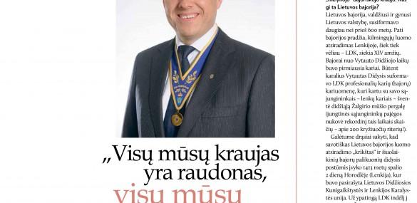 """""""Visų mūsų kraujas yra raudonas, visų mūsų kraujas – Lietuva!"""""""