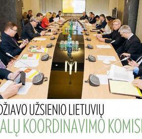 Posėdžiavo Užsienio lietuvių reikalų koordinavimo komisija
