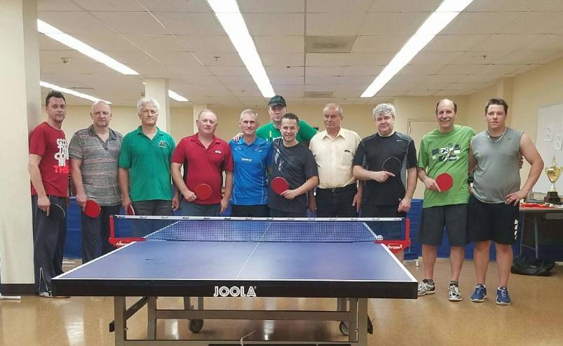 SALFAS stalo tenisininkai