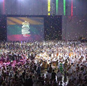 Jubiliejinei šokių šventei Baltimorėje praūžus