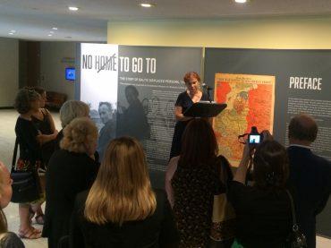 Jungtinėse Tautose Niujorke pristatoma Baltijos šalių išeivių istorija