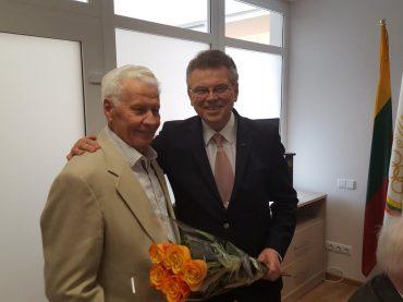 Kauniečiui Artūrui Poviliūnui suteiktas Pasaulio lietuvių sporto ambasadoriaus vardas