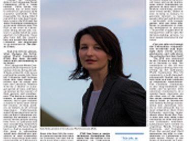 """The Baltic Times"" interviu su PLB pirmininke Dalia Henke"
