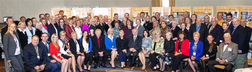 JAV LB tarybos II sesijos dalyviai