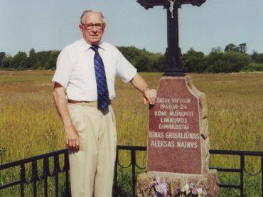 Gruodžio 20 dieną mirė iškilus Pasaulio Lietuvių Bendruomenės narys Bronius Nainys