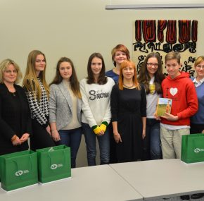 Nacionalinio diktanto laimėtojų iš užsienio edukacinė kelionė į Lietuvą