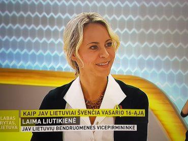 JAV Lietuvių Bendruomenės krašto valdybos vicepirmininkės vizitas Lietuvoje: nuo šimtmečio premjeros iki kasdienių žinių apie Amerikos lietuvius sklaidos