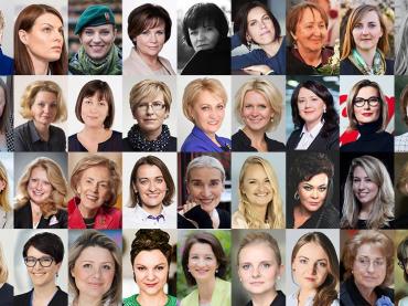 100 Lietuvos moterų, kuriomis didžiuojasi viso pasaulio lietuviai