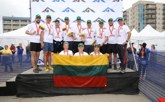 """""""Hood to Coast"""" maratone lietuviai išvystė rekordinį greitį"""