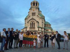 Bulgarijos lietuviai – aktyvūs pilietinių akcijų dalyviai