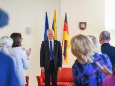 Šiltas ir prasmingas Prezidento Gitano Nausėdos susitikimas su Vokietijos lietuviais