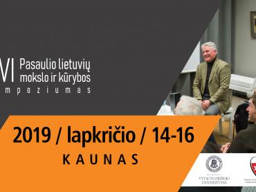 Pasaulio lietuvių mokslo ir kūrybos simpoziumo tiesioginė transliacija