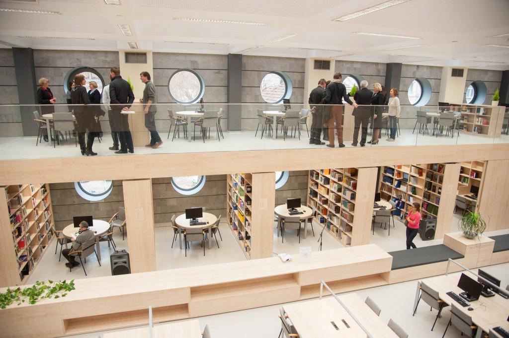 VDU biblioteka. Jono Petronio nuotrauka.