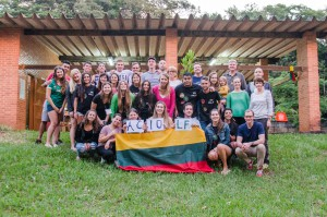 XIX Pietu Amerikos Lietuviu Jaunimo Suvaziavimas - Brazilijoje- Ieva Martinaitis-1