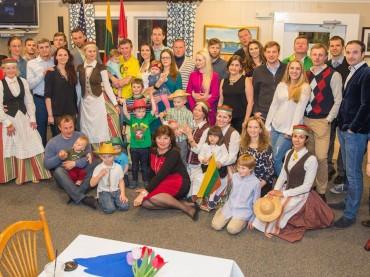 JAV. Nantaketo salos lietuvių bendruomenė paminėjo Lietuvos Nepriklausomybę