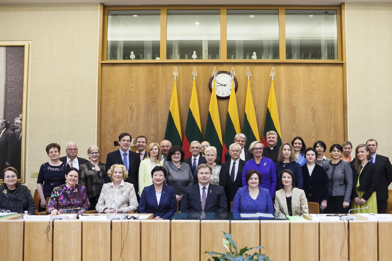 LRS ir PLB komisija Džojos Gundos Barysaitės nuotrauka