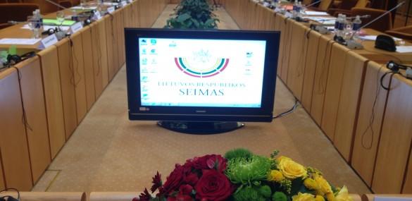 Paskutinė šios kadencijos Seimo ir PLB komisijos posėdžių sesija