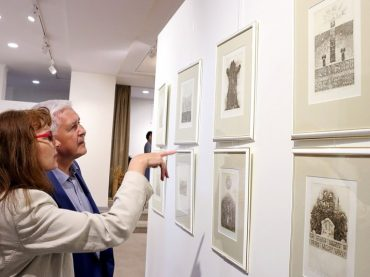 Lietuvos menininkų kūriniai Kaliningrado srities parodų salėse