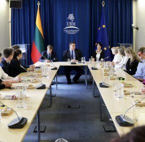 L. Linkevičius: džiaugiamės, kad užsienyje gyvenantys lietuviai įsitraukia į Lietuvos gyvenimą