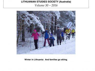 Žinutė iš Tasmanijos: lietuviškų lakštų trisdešimtmetis