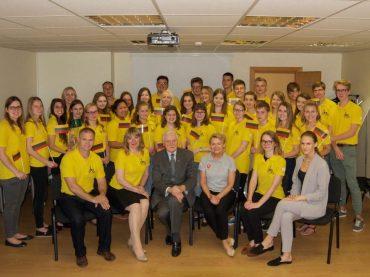 Gerus darbus Lietuvai dovanojo gimnazistai iš JAV