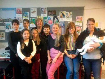 Gimtosios kalbos mokykla prie Kopenhagos savivaldybės:  ambasadorės Gintės Damušis istorijos pamoka
