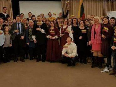 Įspūdžiai iš renginio atkurtai Lietuvai – 100