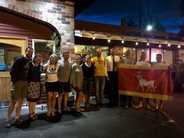 Lietuvos ambasados Vašingtone atstovas susitiko su Portlando lietuviais