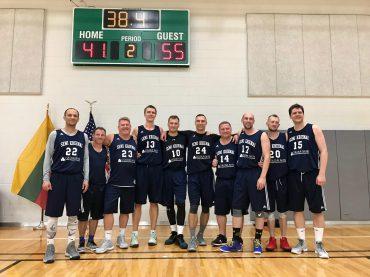 Vašingtone surengtas 15-asis Lietuvos ambasadoriaus krepšinio taurės turnyras
