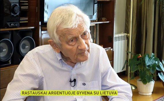 Pasaulio Lietuvių Bendruomenė liūdi netekusi iškilaus lietvybės Argentinoje puoselėtojo Algimanto Rastausko