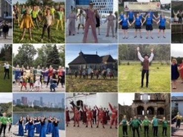 """Projektas """"Lietuva gyva"""" suvienijo lietuvių bendruomenes šokyje"""