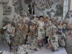 """Almyra Weigel: """"Aš esu lietuvių menininkė, gyvenanti Vokietijoje"""""""