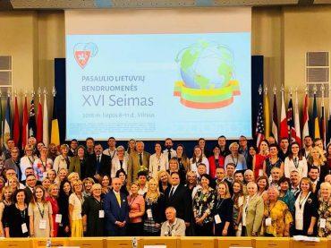 PLB  XVI Seimo nepaprastajai sesijai pasibaigus