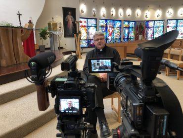 """Prelatas Edmundas Putrimas: """"Bendruomeniškumas yra kertinis krikščionybės bruožas"""""""