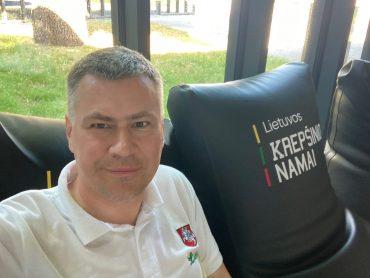 """L.R. Misevičius: """"Akivaizdu, kad mūsų šalies sporte pokyčiai yra būtini, ir mes, pasaulio lietuviai, negalime likti nuošalyje"""""""