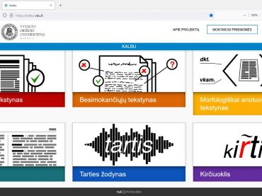 Nauji elektroniniai ištekliai besimokantiesiems lietuvių kalbos