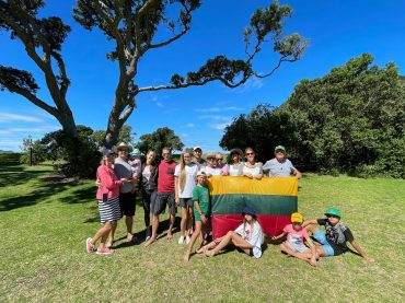 Naujosios Zelandijos lietuviai vakar ir šiandien